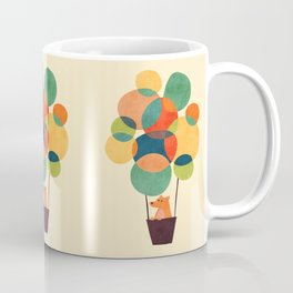 Whimsical Hot Air Balloon Coffee Mug