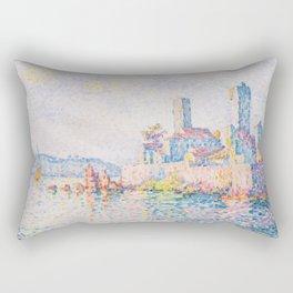 Paul Signac - The Towers at Antibes Rectangular Pillow