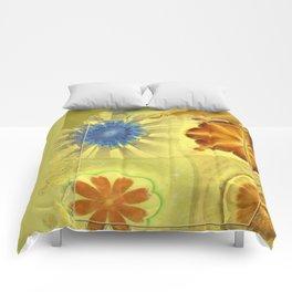 Didactic Rainbow Flower  ID:16165-120332-39891 Comforters