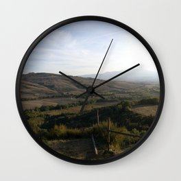 As the Valley Sighs Wall Clock