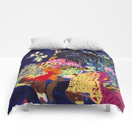 El Gallo y El Gallo Pavo Comforters