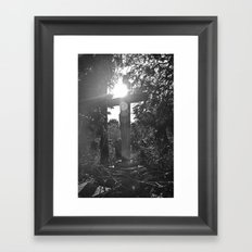 {illumination} Framed Art Print