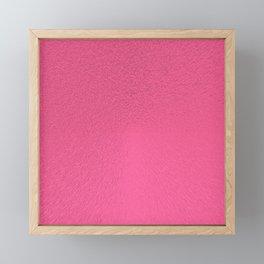 Brink Pink Extrude Framed Mini Art Print