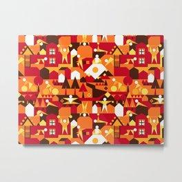 Indoors & outdoors (summer) Metal Print