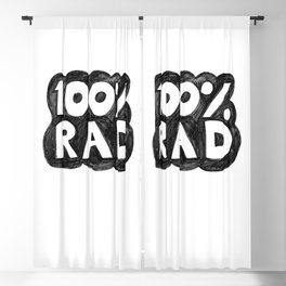 100 % RAD - Bubble Blackout Curtain