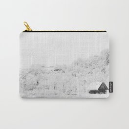 Winter Forest (Black and White) Carry-All Pouch