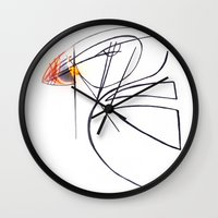 puffin Wall Clocks featuring Puffin Love by Chelle Shaw