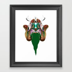 Itzpapalotl Framed Art Print