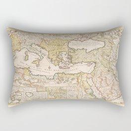 Ottoman Empire 1719 Rectangular Pillow