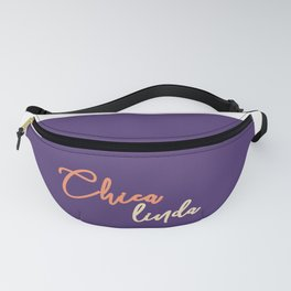 Chica linda - spanish prints Art Print Fanny Pack