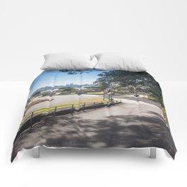 Campsite Driveway Comforters