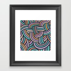 Olas Framed Art Print