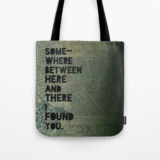 Here & There III Tote Bag