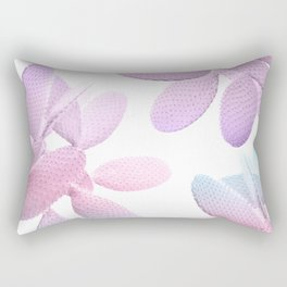 Unicorn Cacti Vibes #1 #pastel #pattern #decor #art #society6 Rectangular Pillow