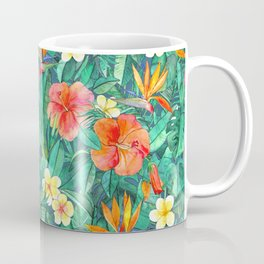 Classic Tropical Garden Coffee Mug