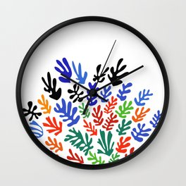 Matisse Floral Pattern #1 Wall Clock