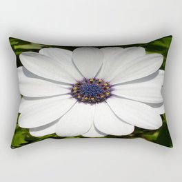 Beautiful Blossoming White Osteospermum  Rectangular Pillow