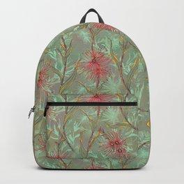 Red Gum Floral Backpack