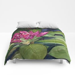 Rhododendron Bud Comforters