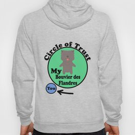 Circle Of Trust Cute Bouvier des Flandres Hoody