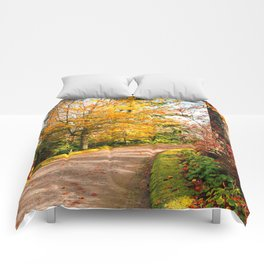 Autumn colors Comforters