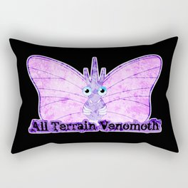 All Terrain Venomoth Rectangular Pillow