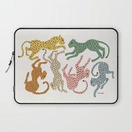 Rainbow Cheetah Laptop Sleeve