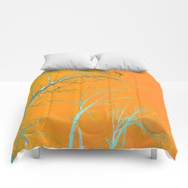 SURREAL TREES Comforters