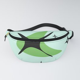 Candys Atomic Retro Design 3 Fanny Pack