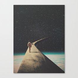 We Chose This Road My Dear Canvas Print