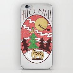 Hello Santa iPhone & iPod Skin