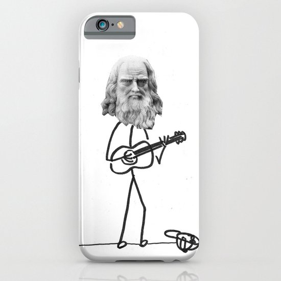 the struggling artist iPhone & iPod Case