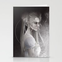sailor moon Stationery Cards featuring Sailor Moon by Nicolas Jamonneau