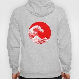 Hokusai great wave of Kanagawa Hoody