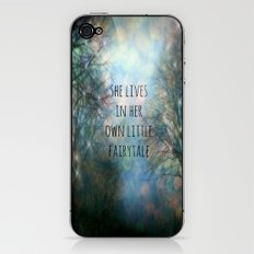 Her Own Fairytale iPhone & iPod Skin