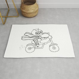 Summer pleasures -Motorcycle Rug