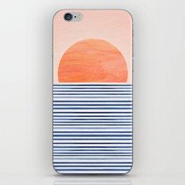Summer Sunrise - Minimal Abstract iPhone Skin
