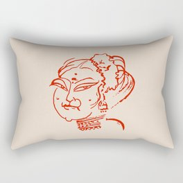 Madam Rectangular Pillow