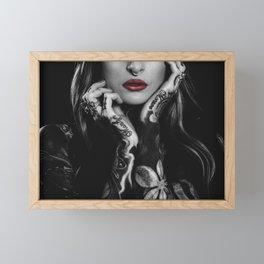 Wild Girl Framed Mini Art Print