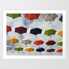 What color are you ? Art Print
