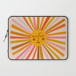 Sunshine – Retro Ochre Palette Laptop Sleeve
