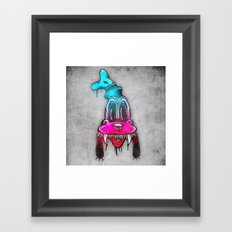 Mad Dog Framed Art Print