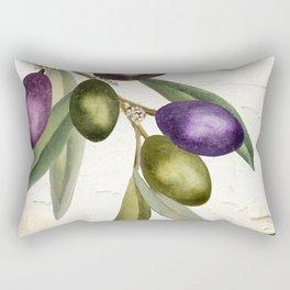 Olive Branch I Rectangular Pillow