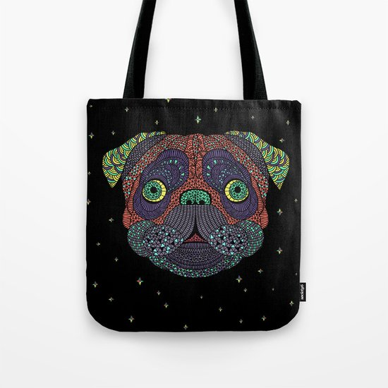Intergalactic Dog Tote Bag