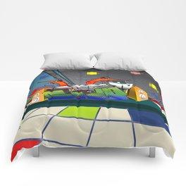 Prawn Dance Comforters