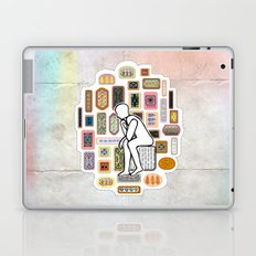 Thinking Man Laptop & iPad Skin
