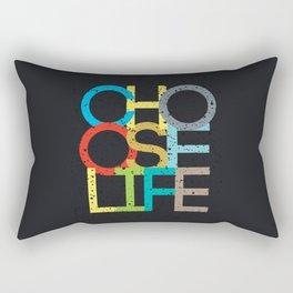 Choose Life Rectangular Pillow