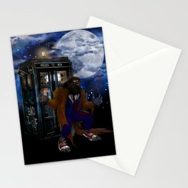 Werewolf 10th Doctor who Stationery Cards