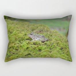 Little frog in Japan Rectangular Pillow
