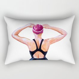 Determination Rectangular Pillow